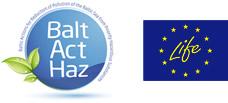 BaltActHaz logo, EU Life+ logo
