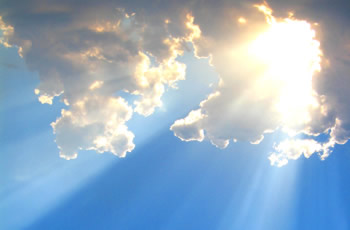 UV-kiirgus: päikeseline taevas